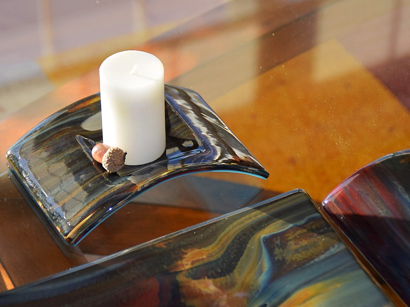 Bridge Candle Holder