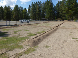 Almost ready for sod!