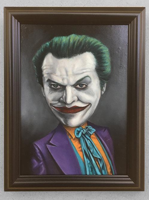 Joking Nicholson - Original Painting
