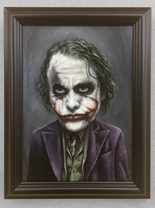 Joking Ledger - Original Painting