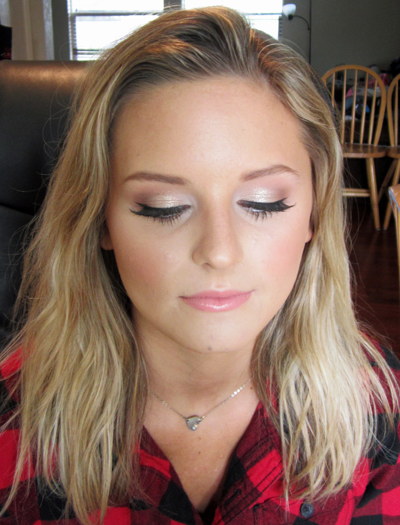 Prom Makeup for Blonde Hair