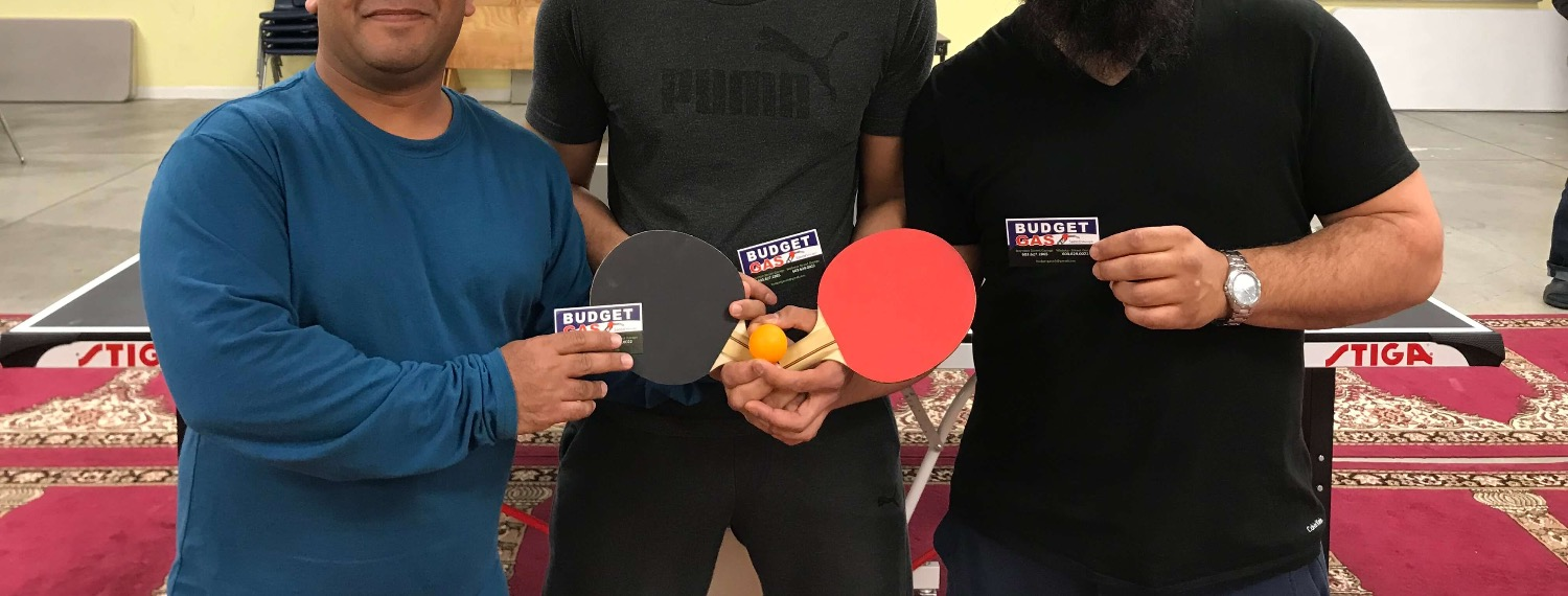 Ping-pong Tournament Winners