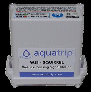 WS1 -- Wireless wetness sensing signal station