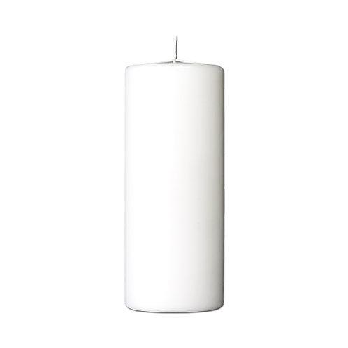 Bloklys 7,8 x 15 cm - paraffin White