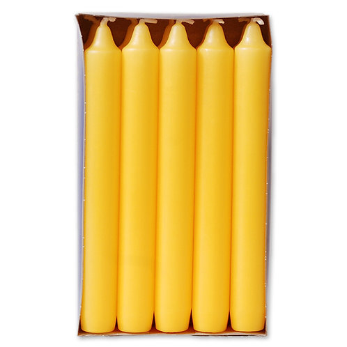 Antik stagelys  2,1 x 17,5 cm Yellow