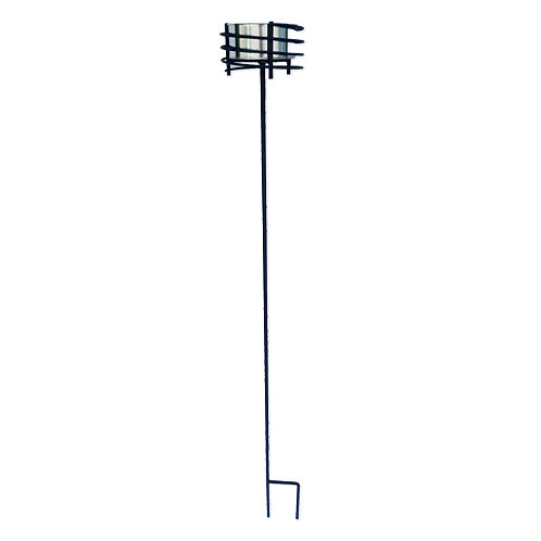 Metal haveblus spyd sort - passer til haveblus med dia. 10,5 cm