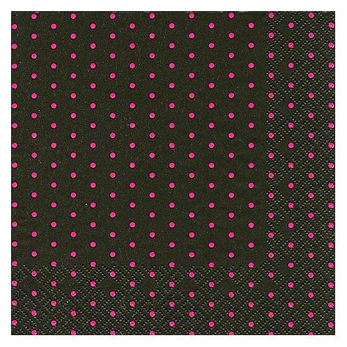 "Storkøb servietter ""Born to think pink dots"" 33 x 33 cm 3-lag 240"