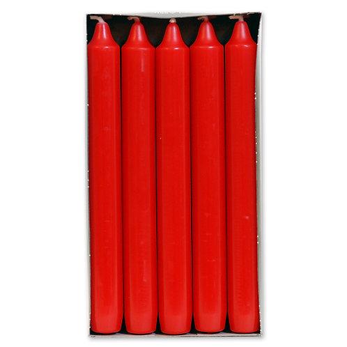 Antik stagelys  2,1 x 17,5 cm Brilliant Red