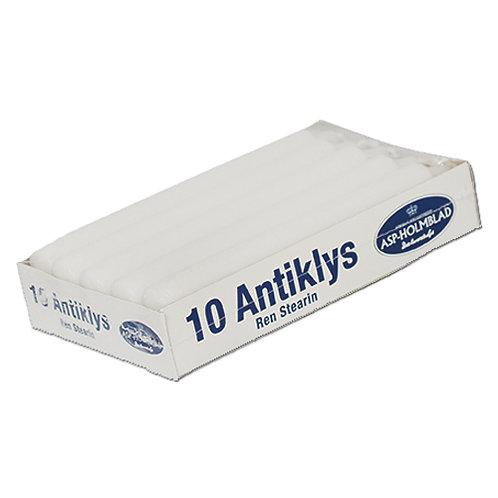 Antik stagelys  2,1 x 17,5 cm White