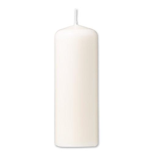 Bloklys 7,8 x 20 cm - paraffin Creme