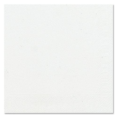 Kaffe servietter 3-Lag  25 x 25 cm 20 stk. White/Hvid