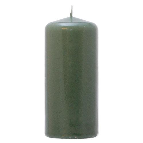 Bloklys 5,8 x 13 cm Moss Green - 100% stearin