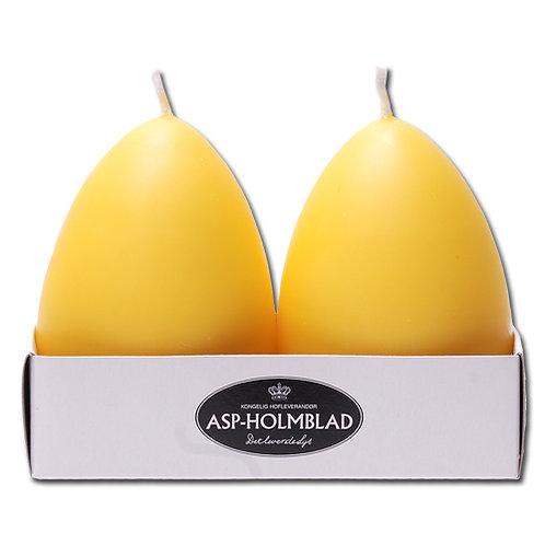 Æggelys 6 x 69 cm Yellow - 2-pak
