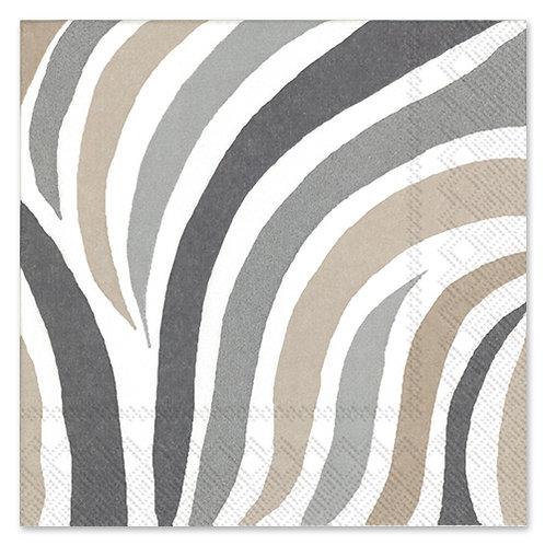 "Storkøb servietter ""Swirls White"" 33 x 33 cm 3-lag 240 stk."