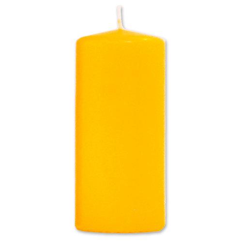 Bloklys 5,8 x 13 cm Yellow - 100% stearin