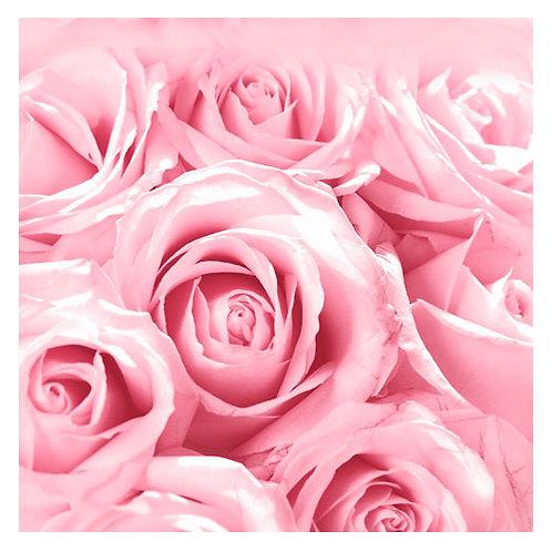 """Design servietter """"Festival Rose"""" 33 x 33 cm 3-lag 20 stk."""