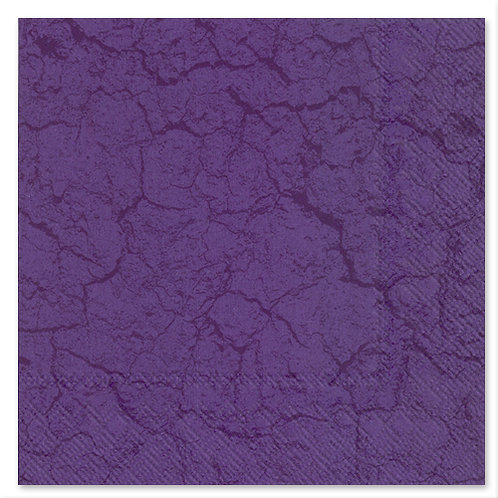 "Storkøb servietter ""Structure Lilac"" 33 x 33 cm 3-lag 240 stk."