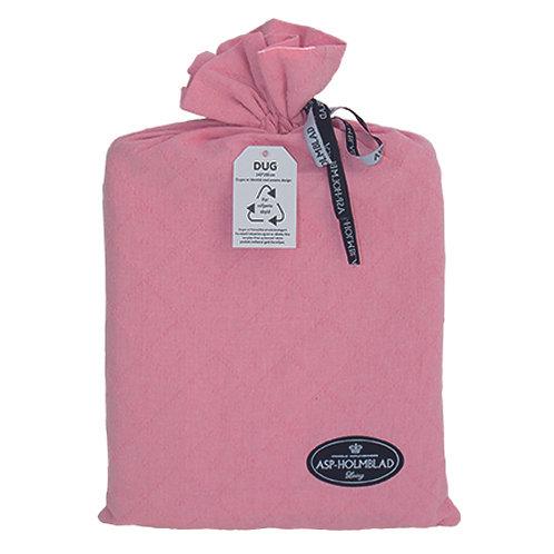 Stofdug 140 x 250 cm i gavepose Baby Pink