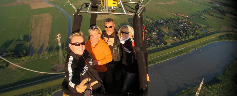 Exclusive Ballonfahrt für 4 Personen