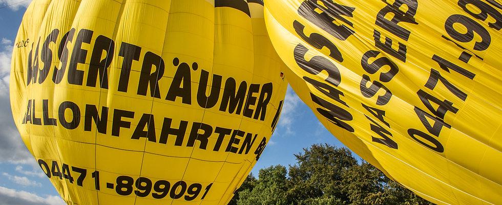 Exklusiv Ballonfahrt (12-14er Gruppe) am Wochenende 170€ pro Person