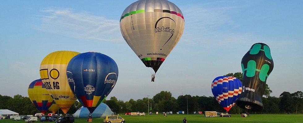 Exklusiv Ballonfahrt (12-14er Gruppe) in der Woche 155€ pro Person
