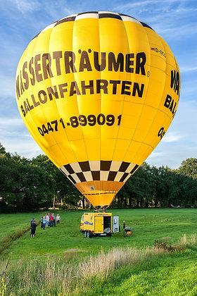 Ballon & Bike für eine 8er Gruppe 200€ pro Person