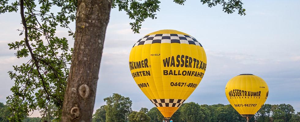 Exklusiv Ballonfahrt (8er Gruppe) am Wochenende 190€ pro Person