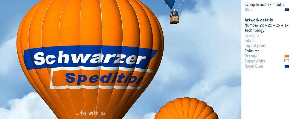Exclusive Ballonfahrt für 5 Personen & Korb mit Tür