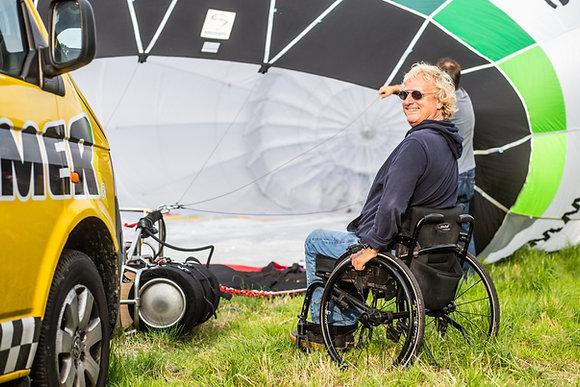 Hopper Ballonfahrt (Rollstuhlfahrer geeignet)