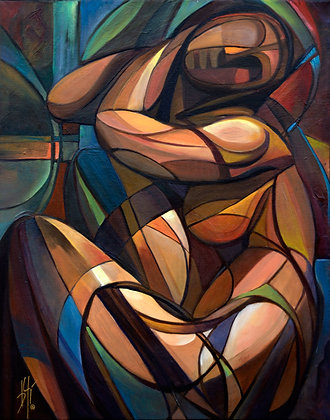 Bound to Serenity - canvas giclée 30x24