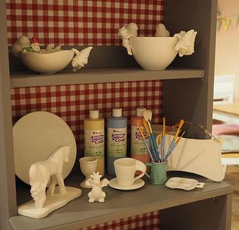 Mal mal Küche - Keramik bemalen