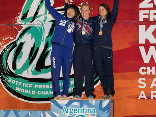 Claire O'Hara wins Ninth Freestyle World Title