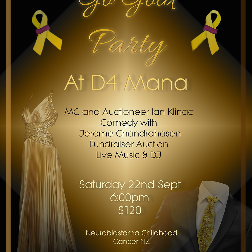 Go Gold Party - Cancelled