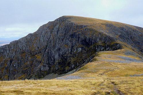 An Cul Choire Headwall