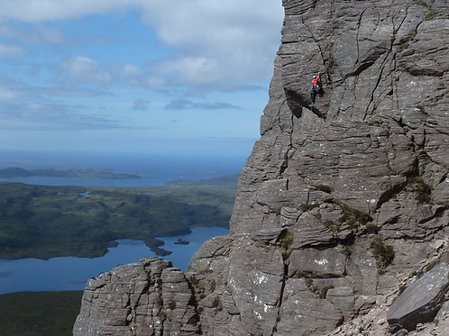 Stac Pollaidh Multi-Pitch Climbing Experience