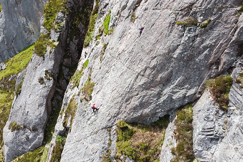 Binnein Shuas Multi-Pitch Climbing Experience