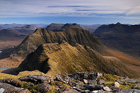 The horns of Beinn Alligin