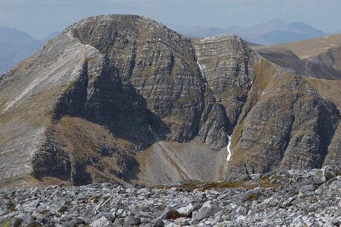East Ridge, North Buttress of Stob Ban