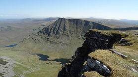 An Sgurr ridge and corriemulzie rib on seana bhraigh