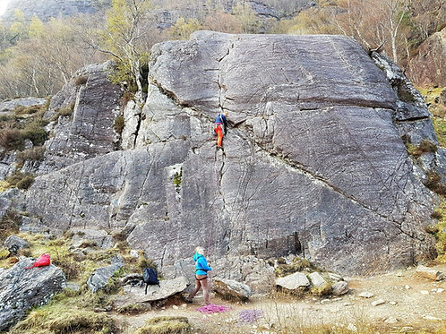 Outcrop Climbing Experience