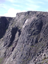 The Black pinnacle on Braeriach