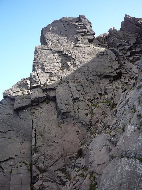 Garbh Choire Rock Multi-Pitch Climbing Experience