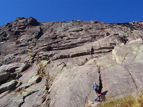 Hells Lum Multi-Pitch Climbing Experience