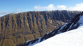 golden oldie on Aonach Mor