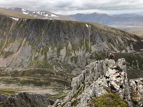 The Drystane and Ptarmigan Ridges