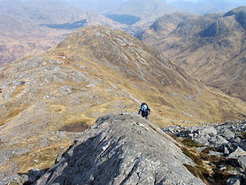 North Ridge of Sgurr Ghiubhsachain