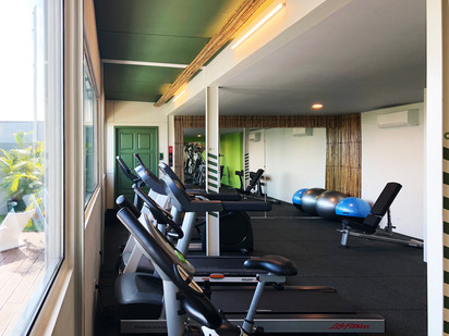 Rooftop Gym