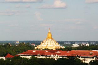 Swe Taw Pagoda From Wyne Suite