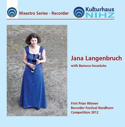 CD: Jana Langenbruch - Recorder