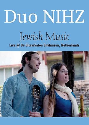 DVD: Duo NIHZ - Jewish Music Live @ Gitaarsalon